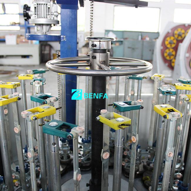 Professional Design Coaxial Cable Wire - Vertical Automatic Hose Braiding Machine 24L-140D – BENFA