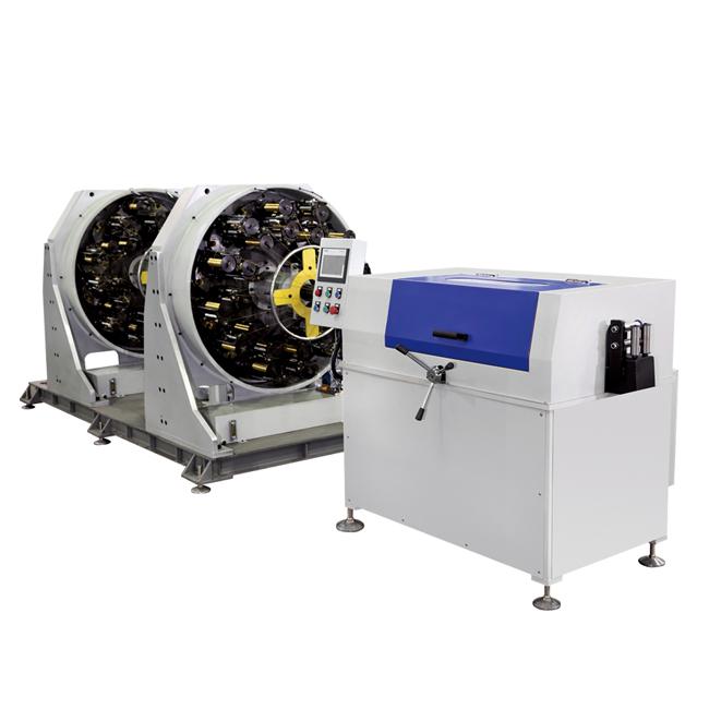 China New Product Pipe Fitting Tools - Hydraulic Hose Horizontal Double Decks Braiding Machine BFB24W-200CFS  – BENFA