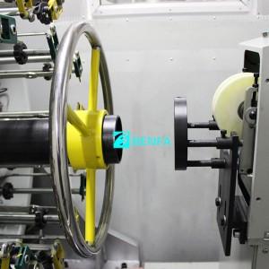24 Carriers Horizontal Braiding Machine BFB 24W-140CF