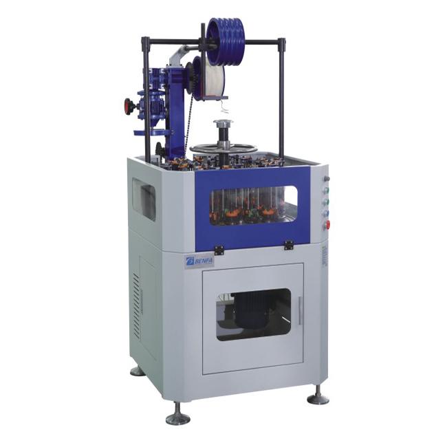 China Supplier Waste Tyre Cutting Machine - Vertical Automatic Hose Braiding Machine BFB24L-114BⅠ – BENFA